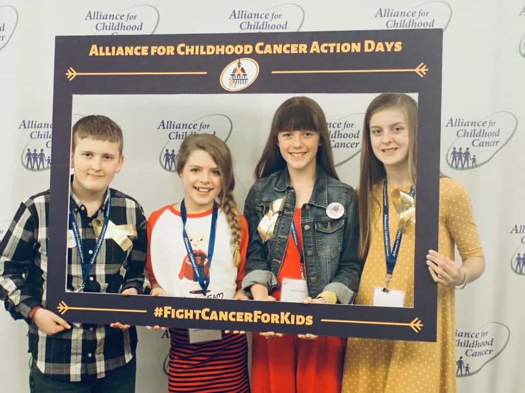SSF Youth Ambassadors Advocate in DC